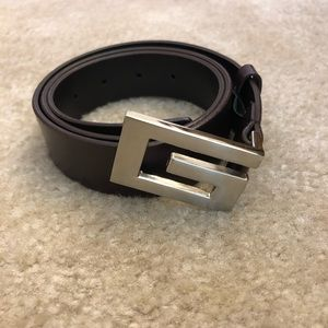 Guess Leather Brown Belt